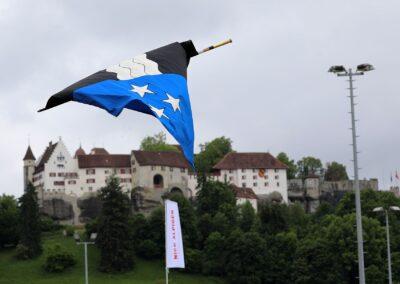 Das erste Kranzschwingfest seit August 2019: 114. AG Kantonalschwingfest in Lenzburg